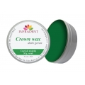 CROWN WAX dark green